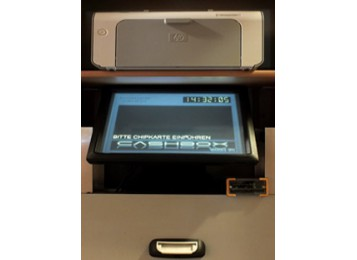 CCL-AUTOMATIC CHIP CARD LOADER WITH TOUCH SCREEN, MONEY ACCEPTOR AND PRINTER