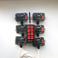 SET: 6 RECEIVERS RXU  + REMOTE CONTROL TXIQ8